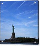 Liberty Island Statue Of Liberty Acrylic Print