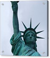 Liberty Acrylic Print by Lorena Mahoney