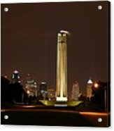 Liberty Memorial Kansas City Acrylic Print