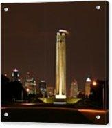 Liberty Memorial Kansas City Acrylic Print