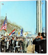 Liberty Memorial Kc Veterans Day 2001 Acrylic Print