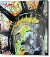 Liberty Acrylic Print by Robert Wolverton Jr