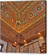 Library Details Acrylic Print