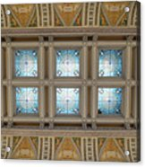 Library Of Congress Ceiling  Acrylic Print
