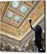 Library Of Congress Great Hall IIi Acrylic Print