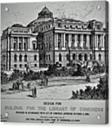 Library Of Congress Proposal 2 Acrylic Print