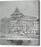 Library Of Congress Proposal 3 Acrylic Print