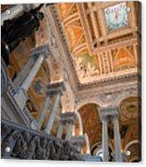 Library Of Congress Vii Acrylic Print