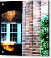 Library Window Acrylic Print