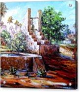 Libyan Farm Acrylic Print