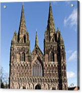 Lichfield Cathedral Acrylic Print