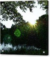 Licht Acrylic Print