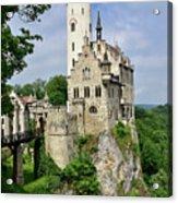 Lichtenstein Castle Acrylic Print