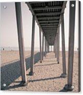Lido Beach In Spring Acrylic Print