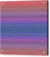 Lie Detector Abstract Design Acrylic Print