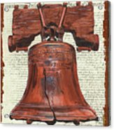 Life And Liberty Acrylic Print