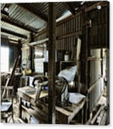 Life As A Shed  Acrylic Print