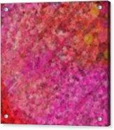 Life Breathing Autumn Acrylic Print