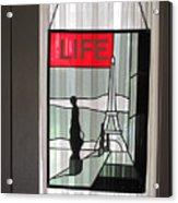 Life Cover By Ed Clark Acrylic Print