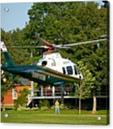 Life Flight Training Acrylic Print