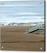 Life Guard Stand - Color Acrylic Print