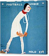 Life: Hold Em, 1925 Acrylic Print