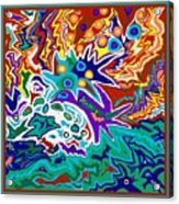 Life Ignition Option 2 With Borders Acrylic Print