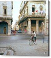 Life In Cuba Acrylic Print