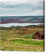 Life In Wyoming Acrylic Print