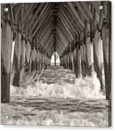 Life Is Good On Topsail Scp Acrylic Print