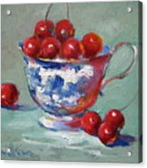 Life Is Just A Cup Of Cherry Acrylic Print