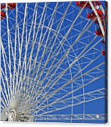 Life Is Like A Ferris Wheel Acrylic Print by Christine Till