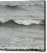 Life Is Like A Wave Acrylic Print