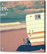 Life Is Short Buy The Beach House Mug Acrylic Print