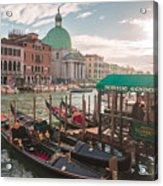 Life Of Venice - Italy Acrylic Print