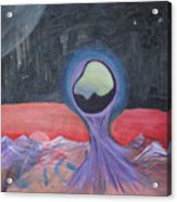 Life On Another Planet I Acrylic Print