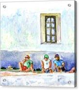 Life On Culatra Island Acrylic Print