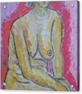 Life Study Of The Female Figure 07 Acrylic Print