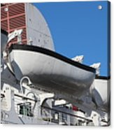 Lifeboat On Queen Mary Acrylic Print