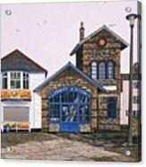 Lifeboat Station Acrylic Print