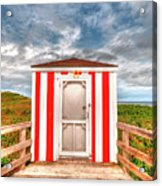 Lifeguard Hut Acrylic Print
