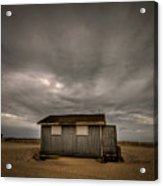 Lifeguard Shack Acrylic Print by Evelina Kremsdorf