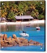 Lifes A Beach Acrylic Print