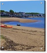 Life's A Beach In Provincetown Cape Cod Acrylic Print
