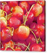 Life's A Bowl Of Cherries Acrylic Print