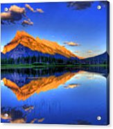 Life's Reflections Acrylic Print by Scott Mahon