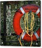 Lifesaver Acrylic Print