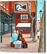 Liffey Street, Dublin Acrylic Print