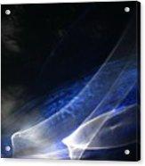 ''light And Blue Disc No.35'', Tue--22sep2015 Acrylic Print