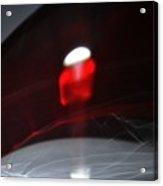 ''light And Red Disc No.18'', Sun--27sep2015 Acrylic Print